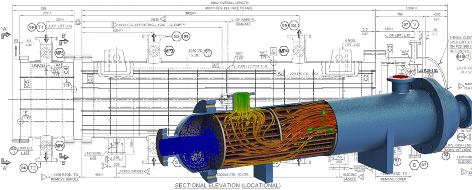 طراحی مبدل حرارتی